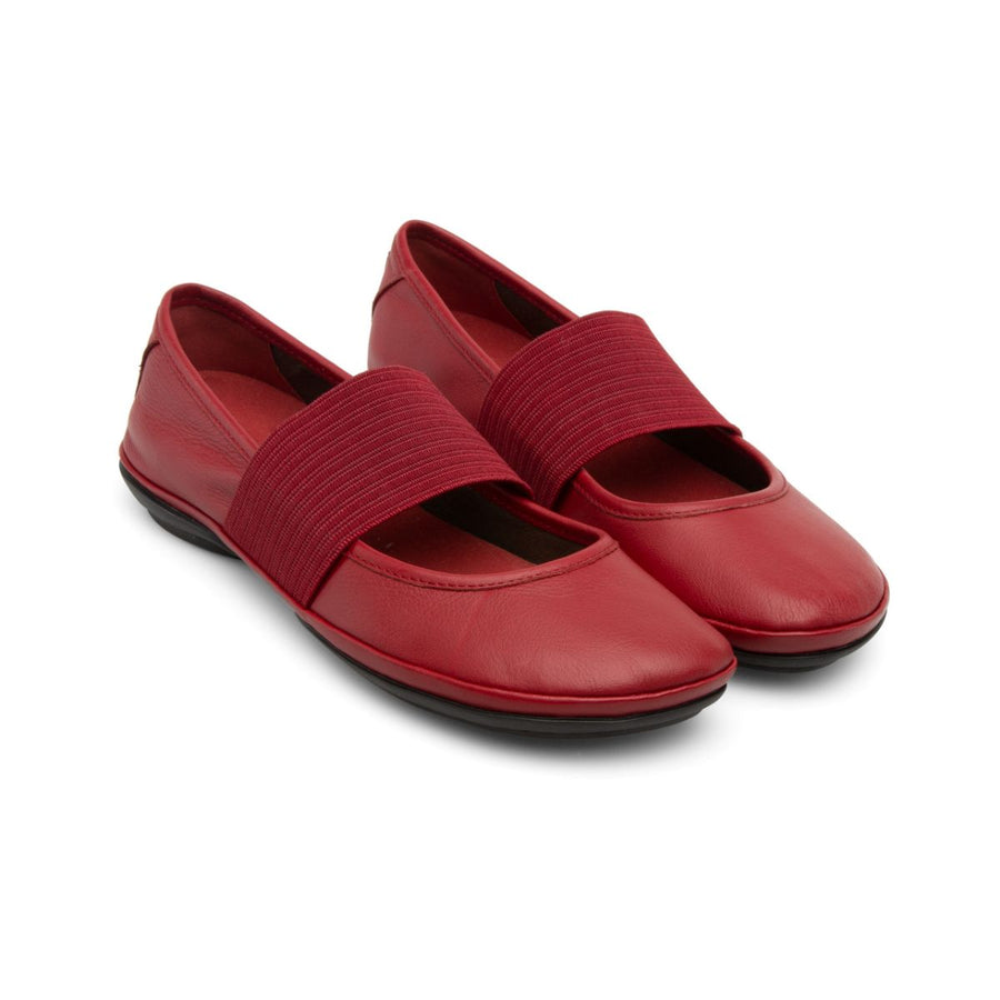 Camper Women's Right Nina in Medium Red Mary Jane Camper