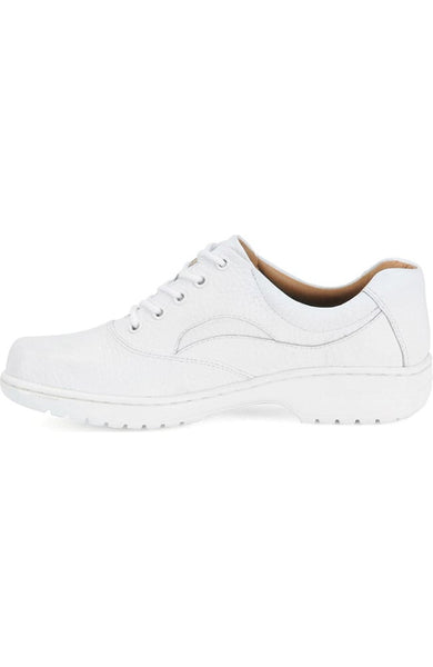 Nurse Mates Women's Macie Shoe in White Flats Nursemates
