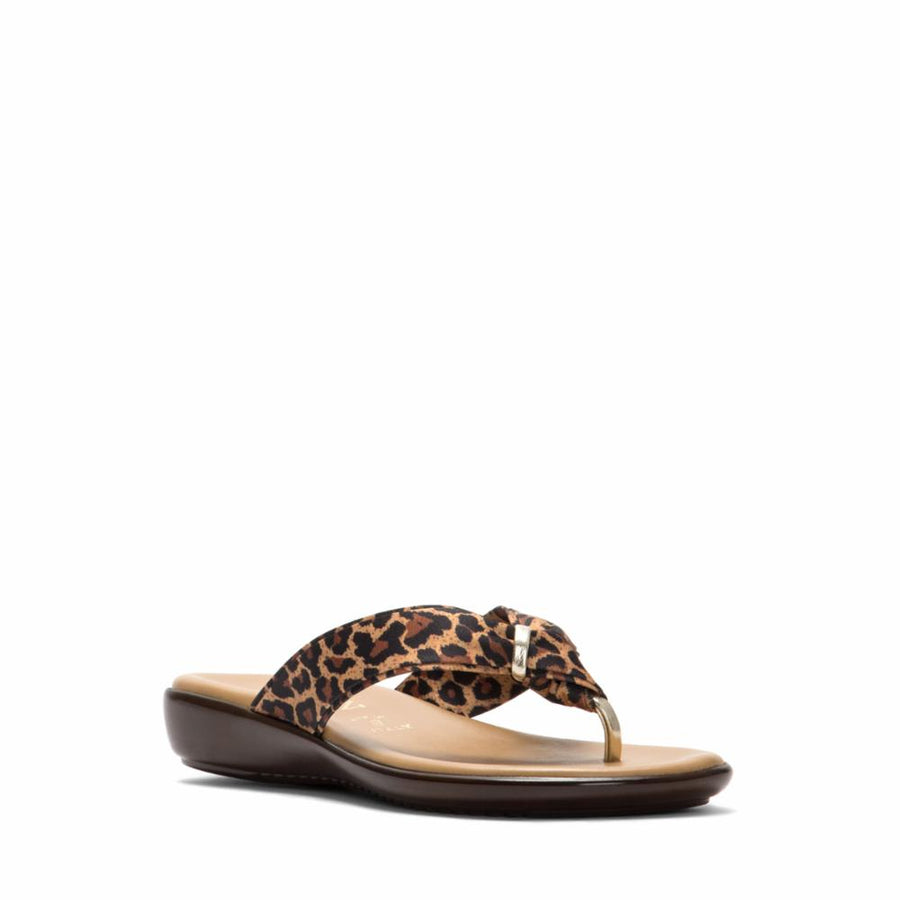 Italian Shoemakers Women's 4044V9 Brown M Sandals Italian Shoemakers