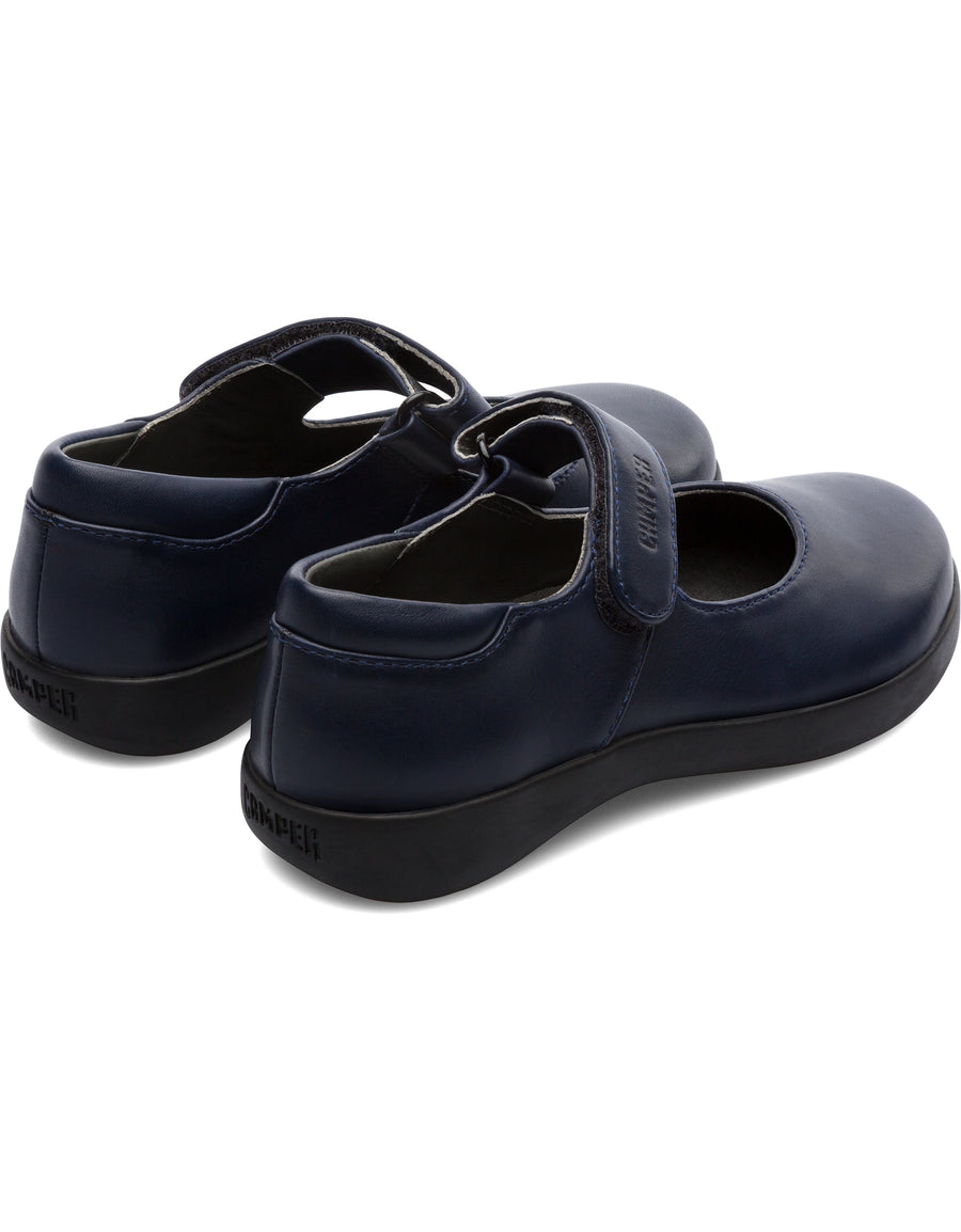 Camper Kids Spiral Comet in Navy Mary Jane Camper