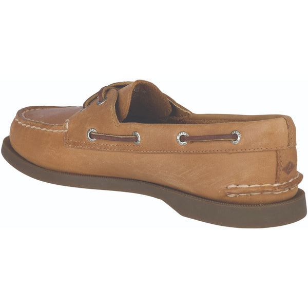 Sperry Women's A/O 2-Eye Boat Shoe in Nutmeg