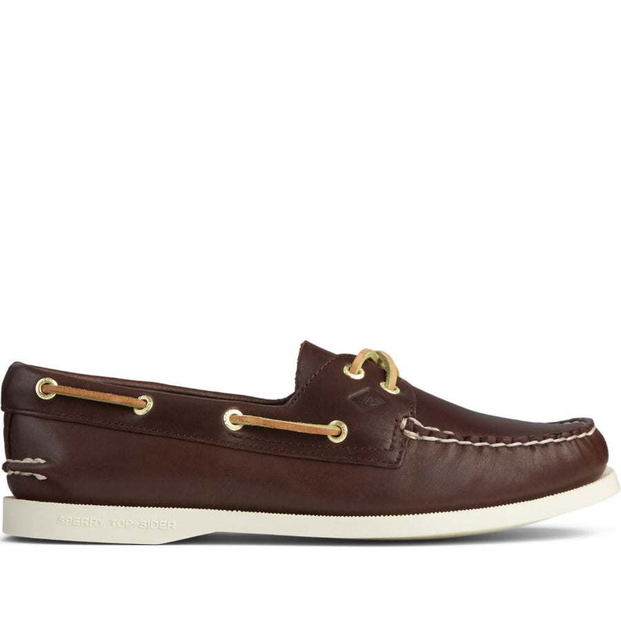 Sperry Women's A/O 2-Eye Boat Shoe in Brown Flats Sperry