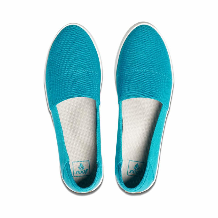 Reef Women's A2ygi Reef Rose Blue M Flats Reef Women