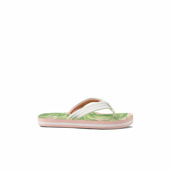 Reef Women's A3onl Kids Ahi White M Kids Sandals Reef Kids 13/1
