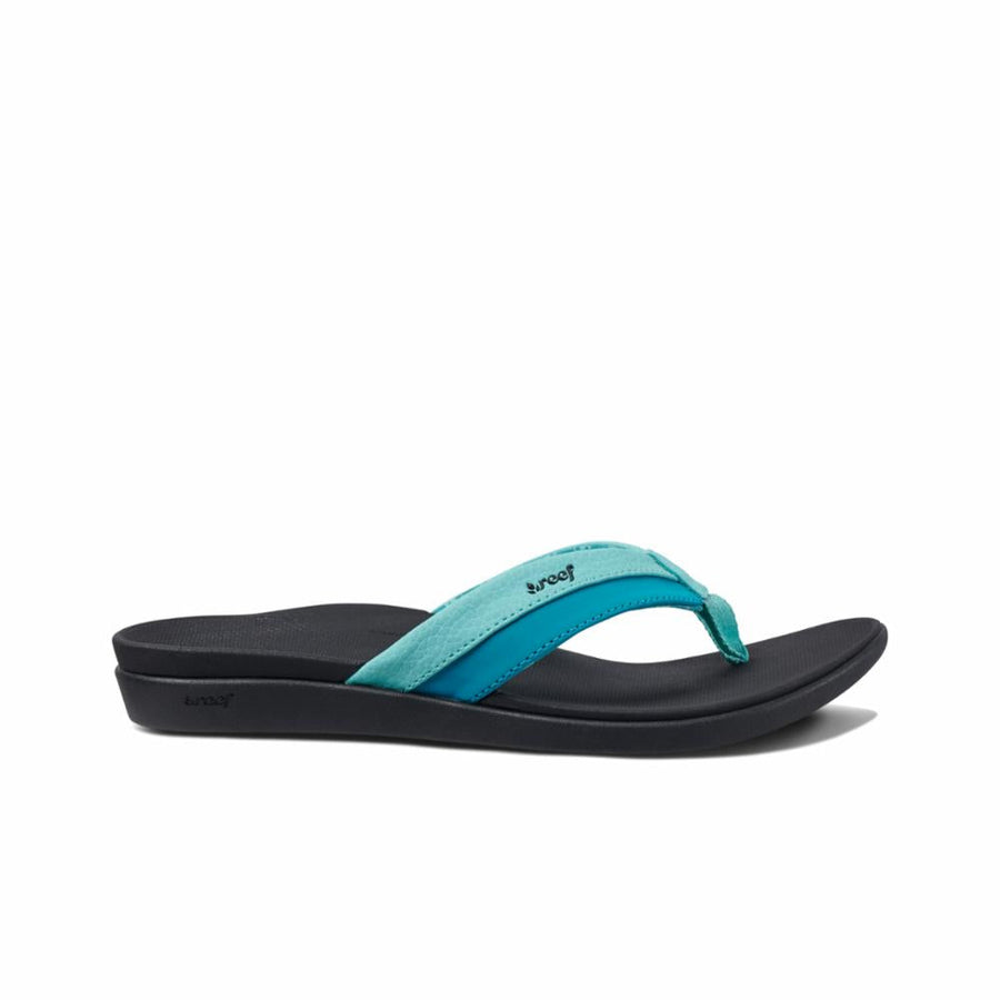Reef Women's A3vdo Reef Ortho Coast Blue M Sandals Reef Women 10