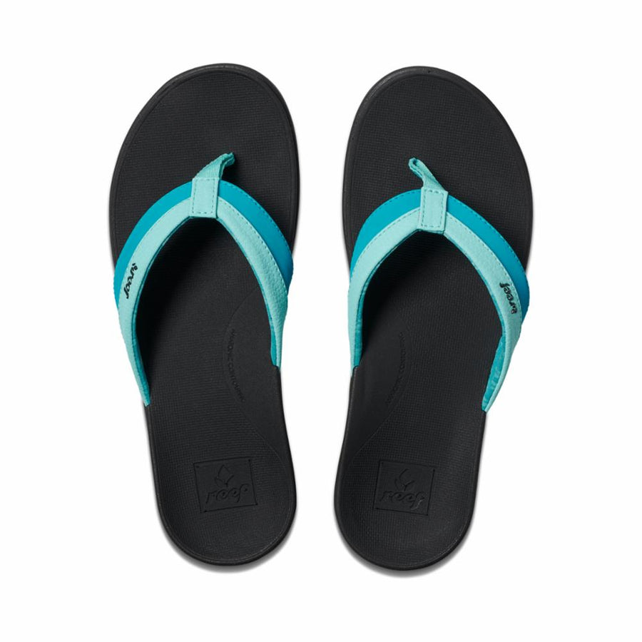 Reef Women's A3vdo Reef Ortho Coast Blue M Sandals Reef Women