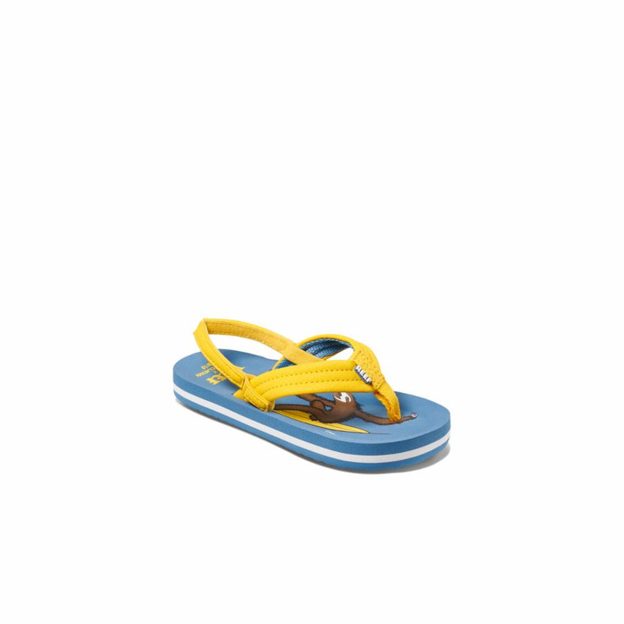 Reef Women's A3yp8 Jonas Claesson Lil Ahi Yellow M Kids Sandals Reef Kids