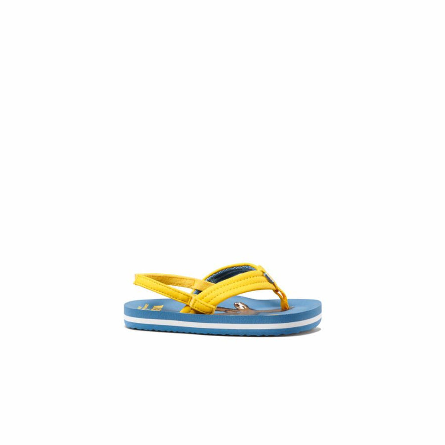 Reef Women's A3yp8 Jonas Claesson Lil Ahi Yellow M Kids Sandals Reef Kids 11/12