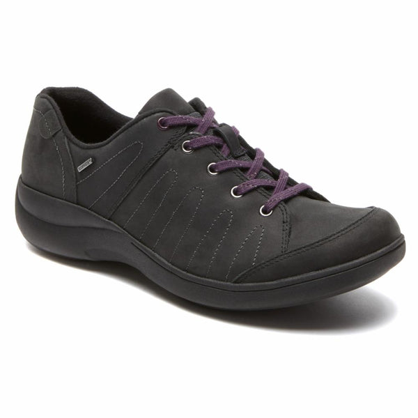 Aravon Women's Aau13bk Rev Stridarc Waterproof Black B Sneakers Aravon