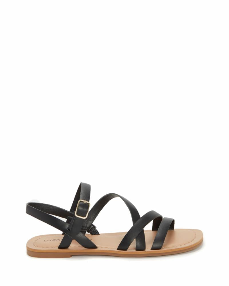 Lucky Brand Women's Bizell2 Black M Sandals Lucky Brand 5.5