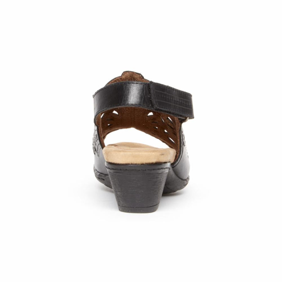 Cobb Hill Women's Cbd37bk Abbott Black M Sandals Cobb Hill