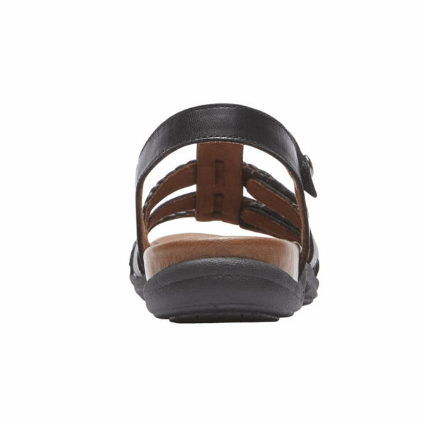 Cobb Hill Women's Ch0074 Rubey Black M Sandals Cobb Hill