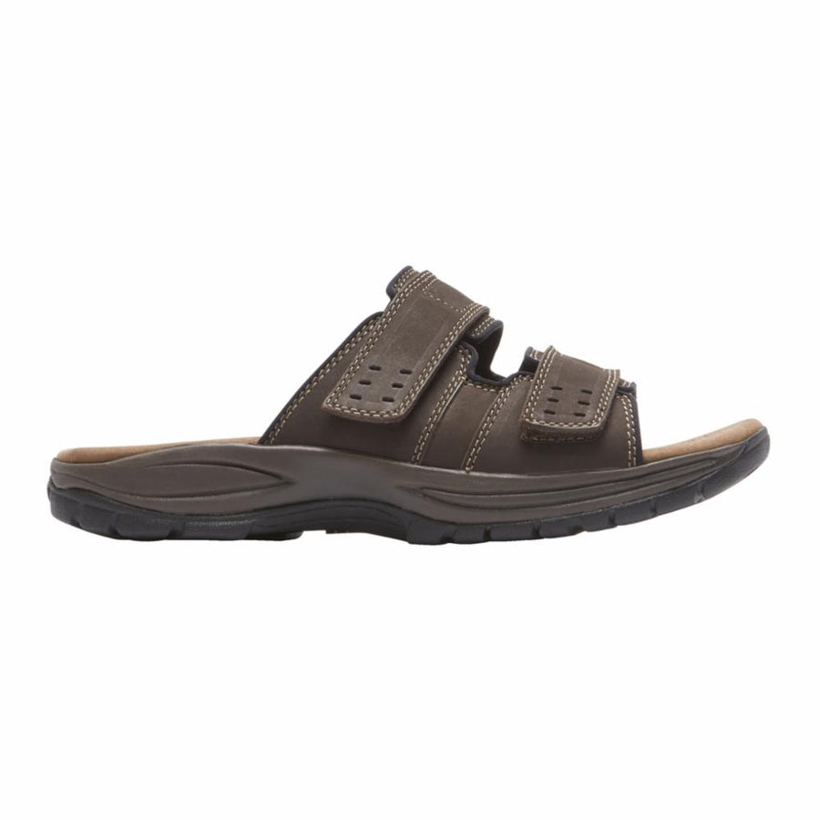 Dunham Men's Ch0485 Newport Brown 6E Men's Sandals Dunham 9