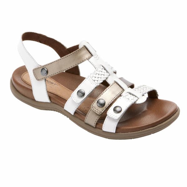 Cobb Hill Women's Ch1011 Rubey White N Sandals Cobb Hill