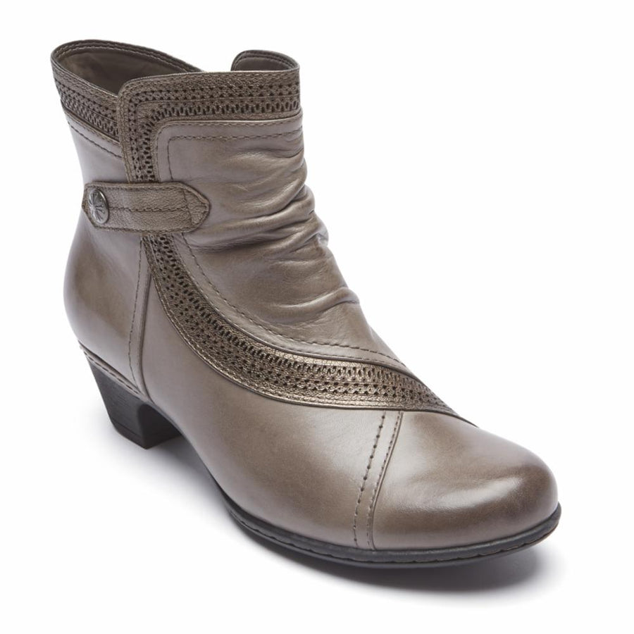 Cobb Hill Women's Ch3032 Abbott Grey M Boots Cobb Hill