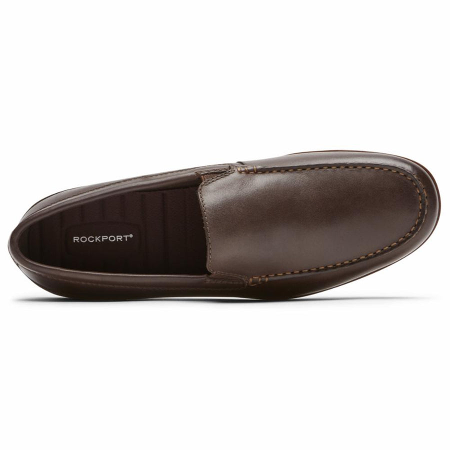 Rockport Men's Ch8537 Malcom Brown M Men's Flats Rockport Men