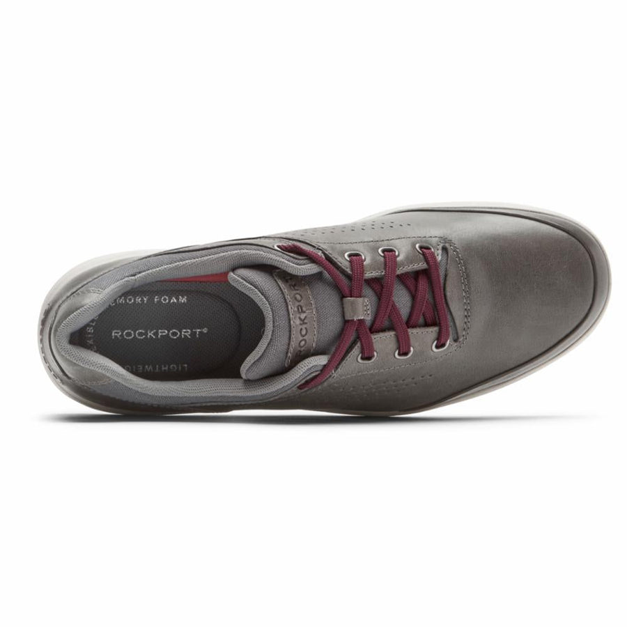 Rockport Men's Ch8883 Zaden Grey M Men's Flats Rockport Men