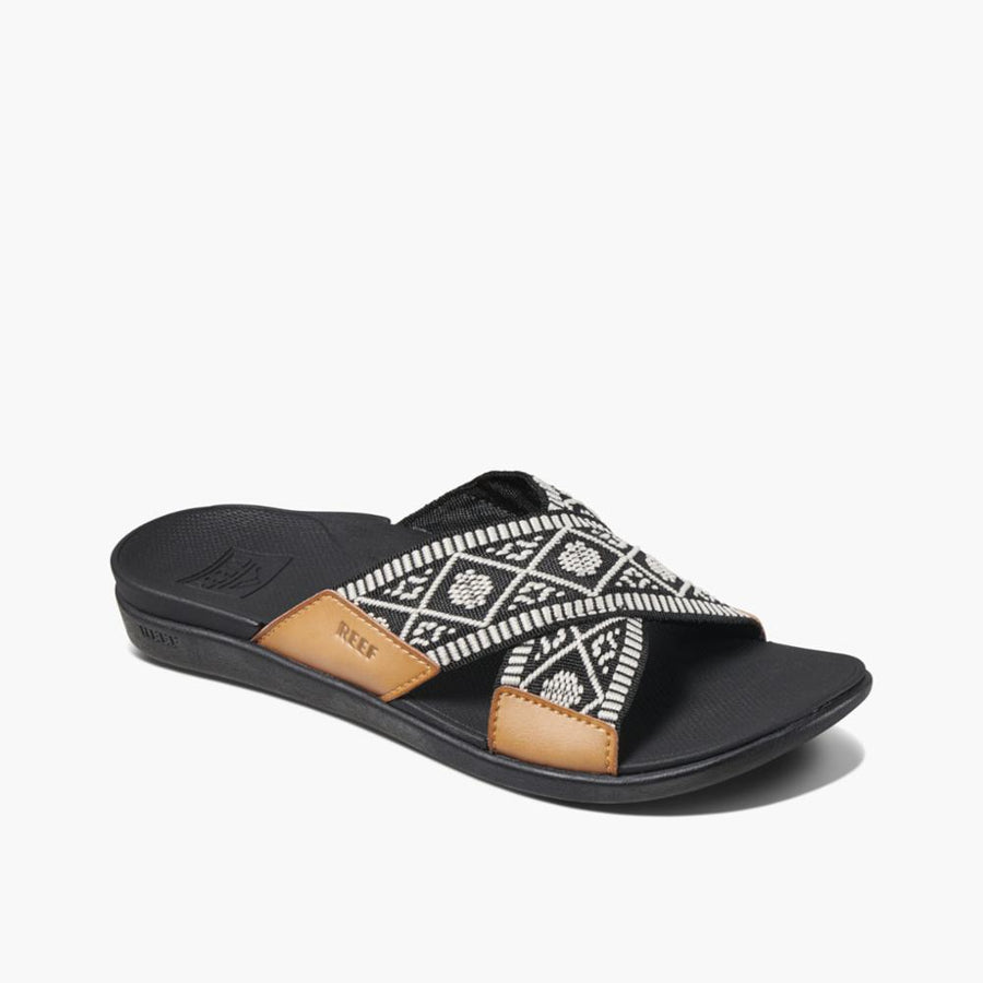 Reef  Women's Ci2980 Reef Ortho X Slide Black M