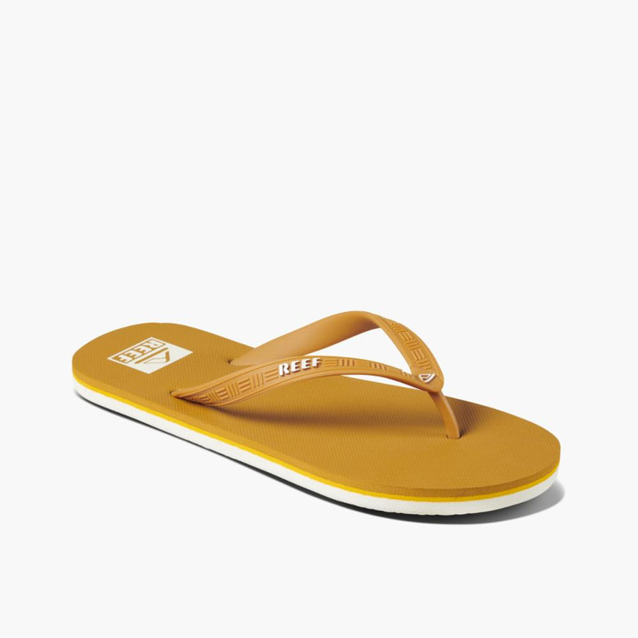 Reef Men's Ci4068 Reef Seaside Yellow M Men's Sandals Reef Men