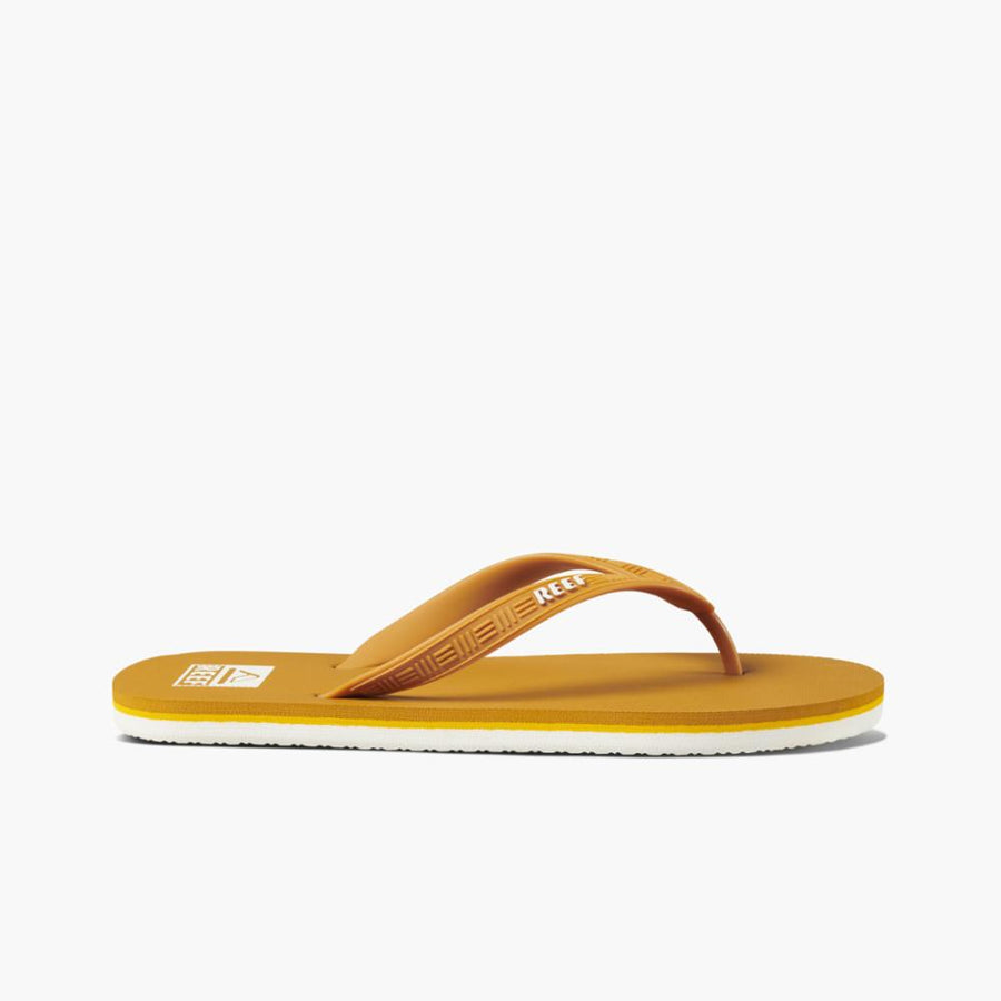 Reef Men's Ci4068 Reef Seaside Yellow M Men's Sandals Reef Men 9