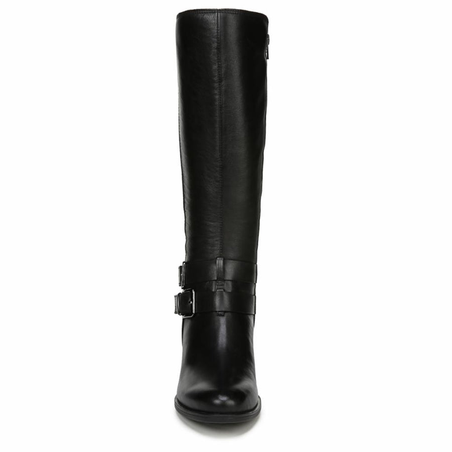 Naturalizer Women's Dale Black M Boots Naturalizer