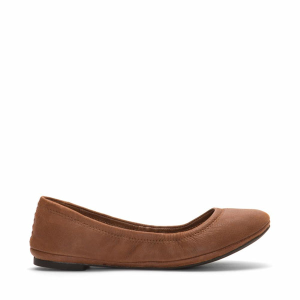 Lucky Brand Women's Emmie Brown M Flats Lucky Brand