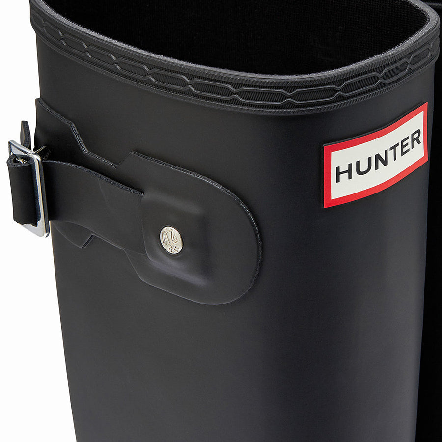 Hunter Women's Original Tall Boot in Black Rain Boots HUNTER