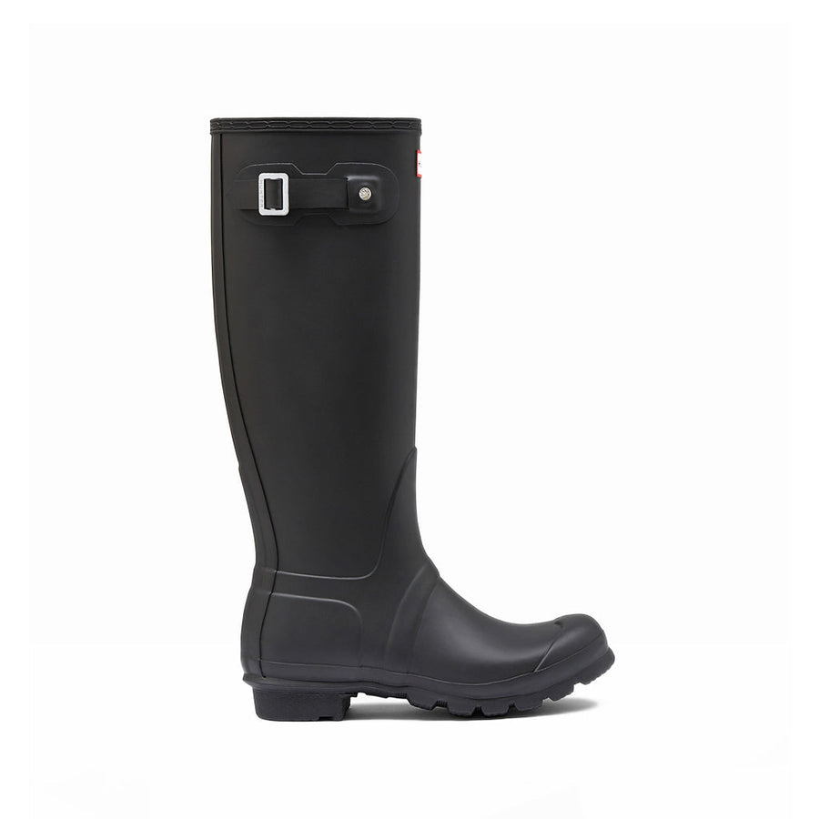 Hunter Women's Original Tall Boot in Black Rain Boots HUNTER 5
