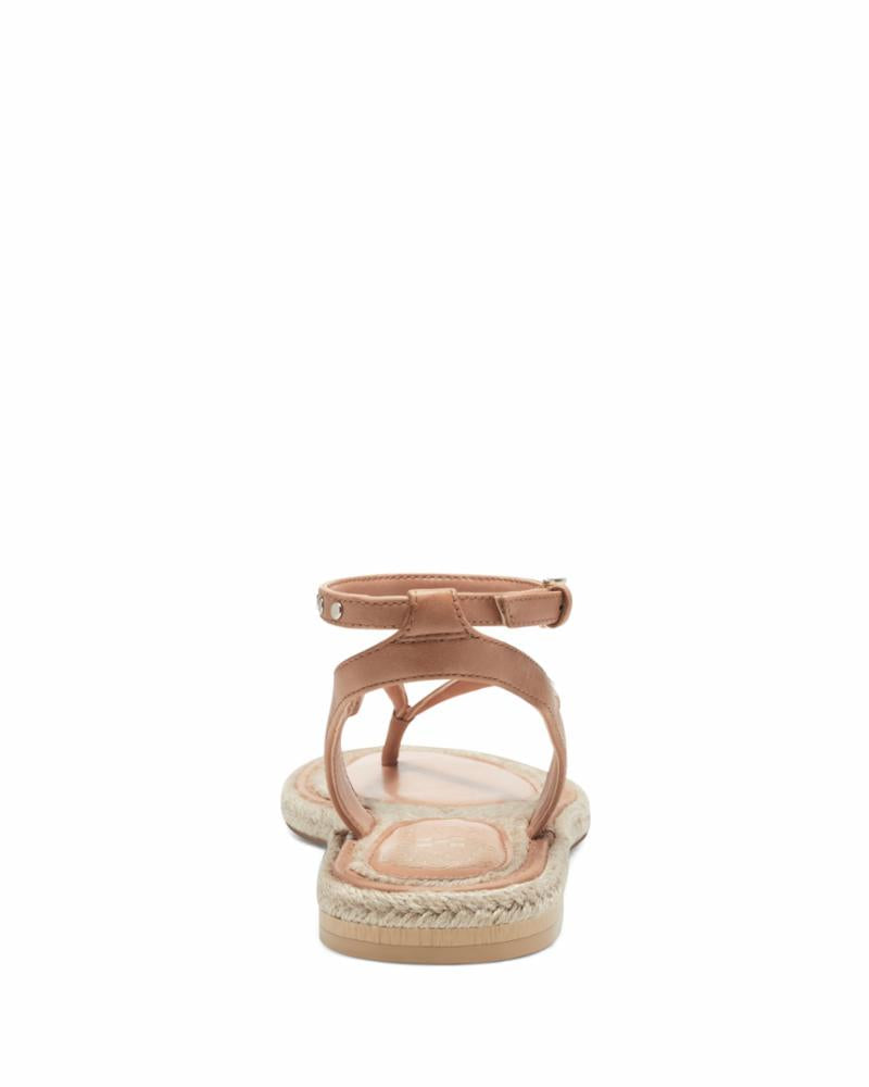 Vince Camuto Women's Kelmia Brown M Sandals Vince Camuto