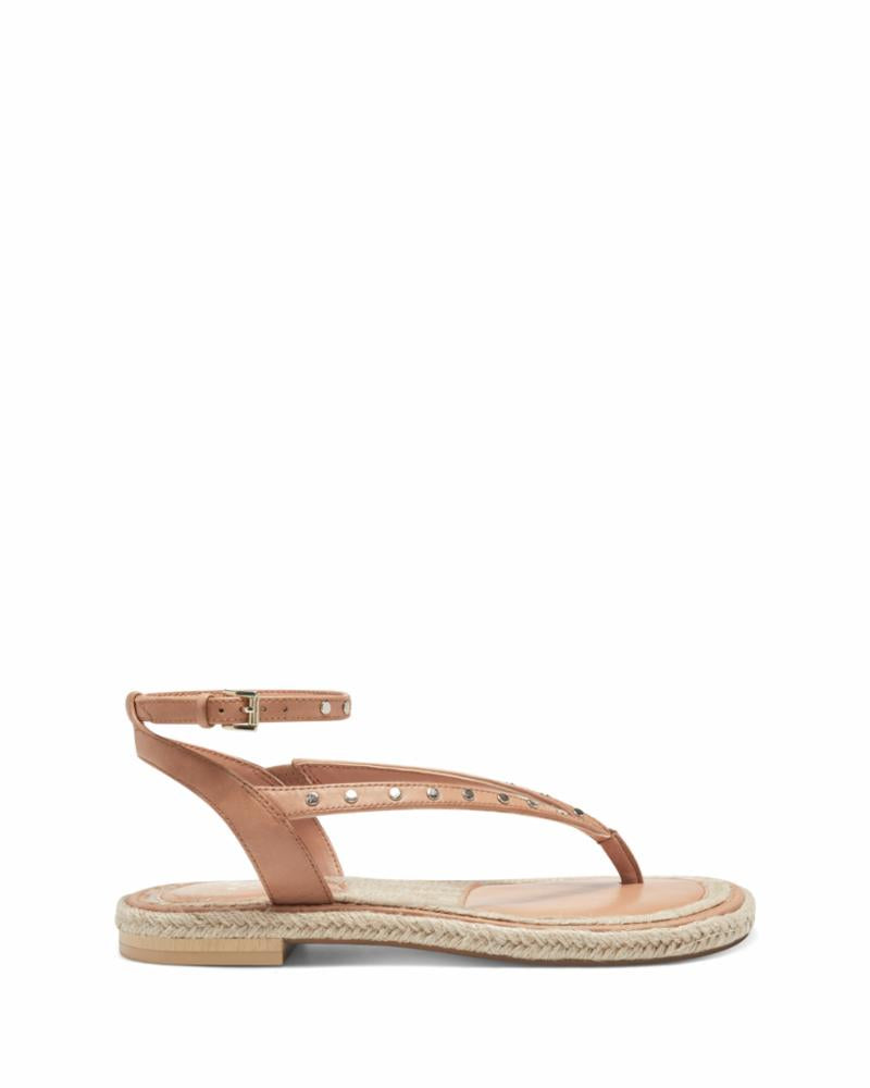 Vince Camuto Women's Kelmia Brown M Sandals Vince Camuto 5.5