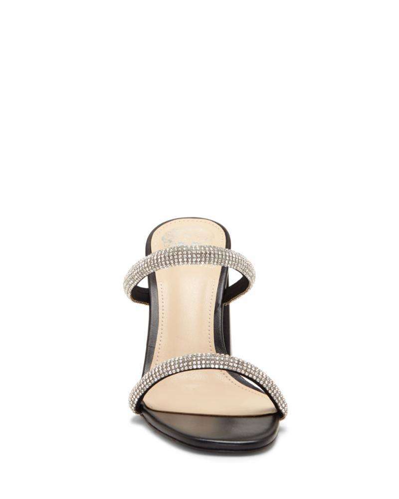 Vince Camuto Women's Magaly Black M Sandals Vince Camuto