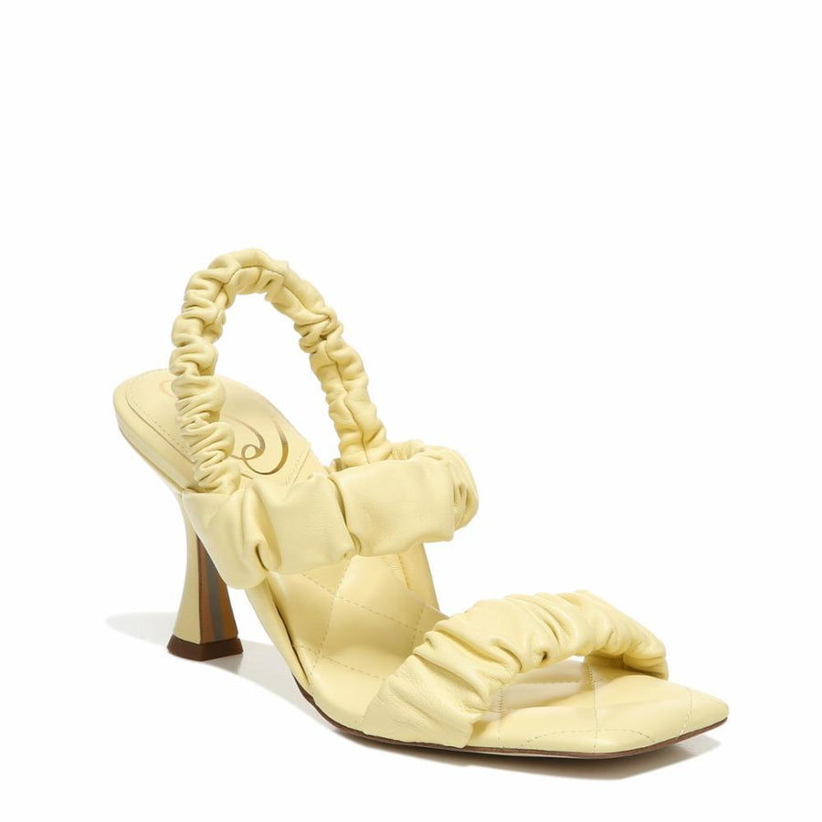 Sam Edelman Women's Marlena Yellow M Sandals Sam Edelman