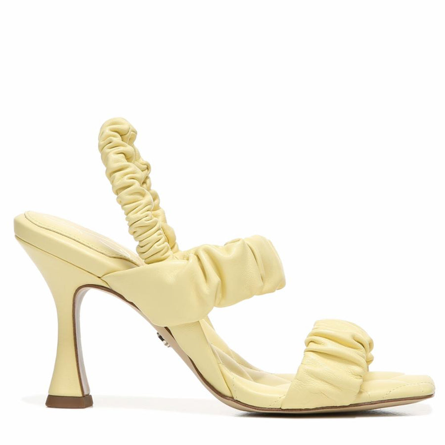 Sam Edelman Women's Marlena Yellow M Sandals Sam Edelman 6