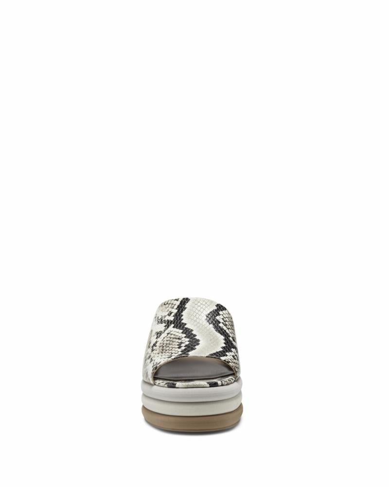 Vince Camuto Women's Pendrea Animal Print M Sandals Vince Camuto