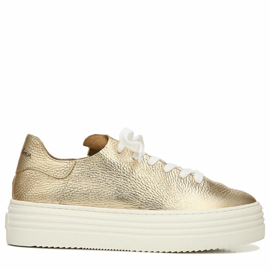 Sam Edelman Women's Pippy Gold M Sneakers Sam Edelman 6