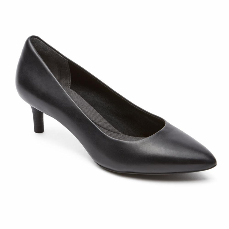 Rockport Women's V78396 Total Motion Kalila Black W Heels Rockport Women