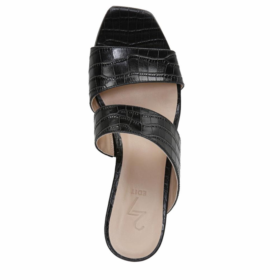 27 Edit Women's Vennice Black M Heels 27 Edit
