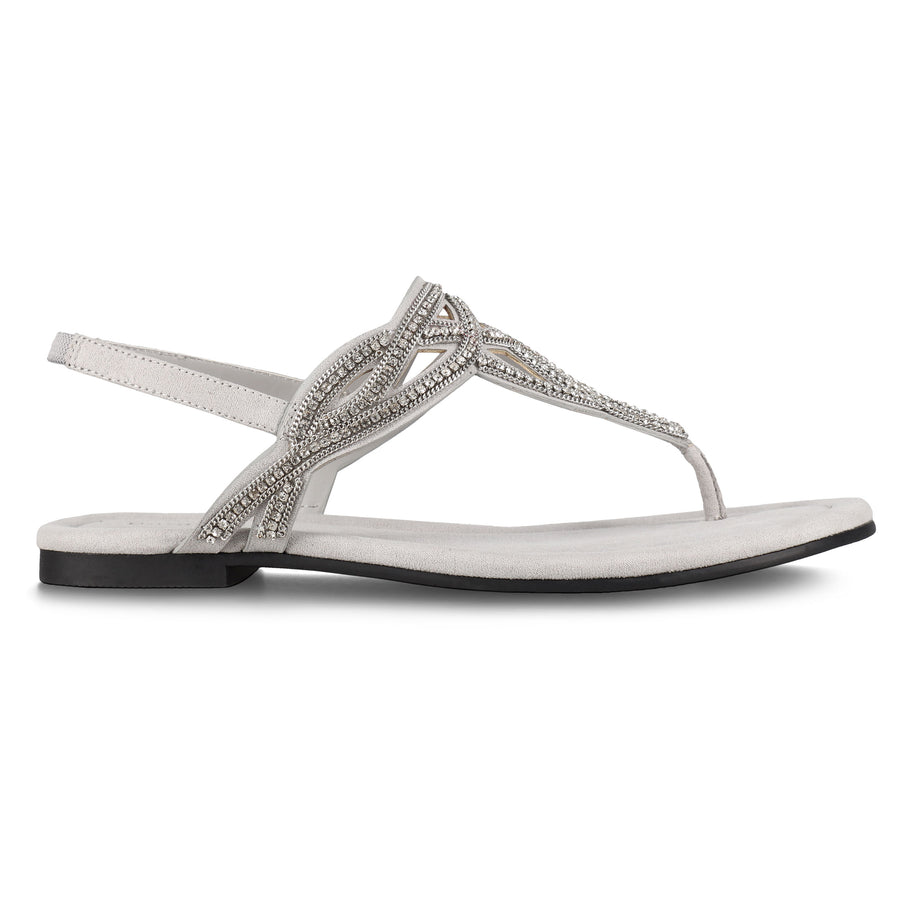 Bandolino Women's Kalier2 in Grey Sandals Bandolino 7