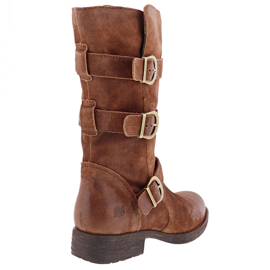 Born Women's Ivy Boots in Rust Boots BORN