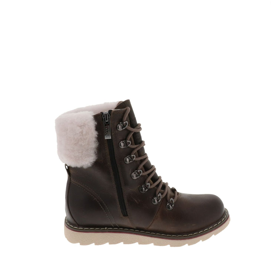 Royal Canadian Women's Cambridge in Fossil Winter Boots Royal Canadian