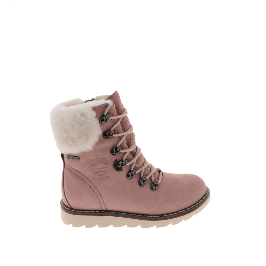 Royal Canadian Women's Cambridge in Pink Winter Boots Royal Canadian 7