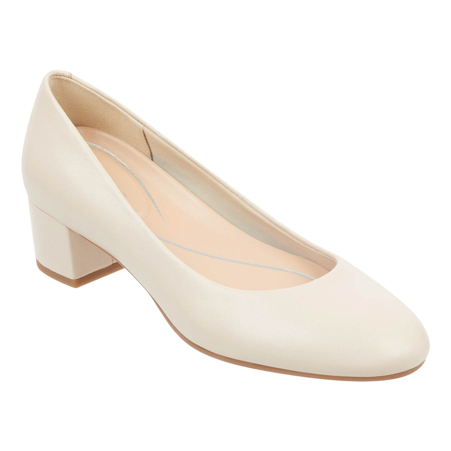 Easy Spirit Women's Ailene Pumps in Nude W Heels Easy Spirit