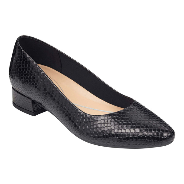 Easy Spirit Women's Caldise Pumps in Black W Heels Easy Spirit