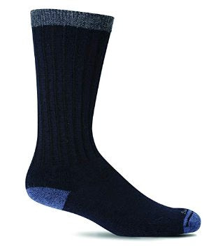 Sockwell Men's Easy Does it Socks in Navy Socks Sockwell M/L