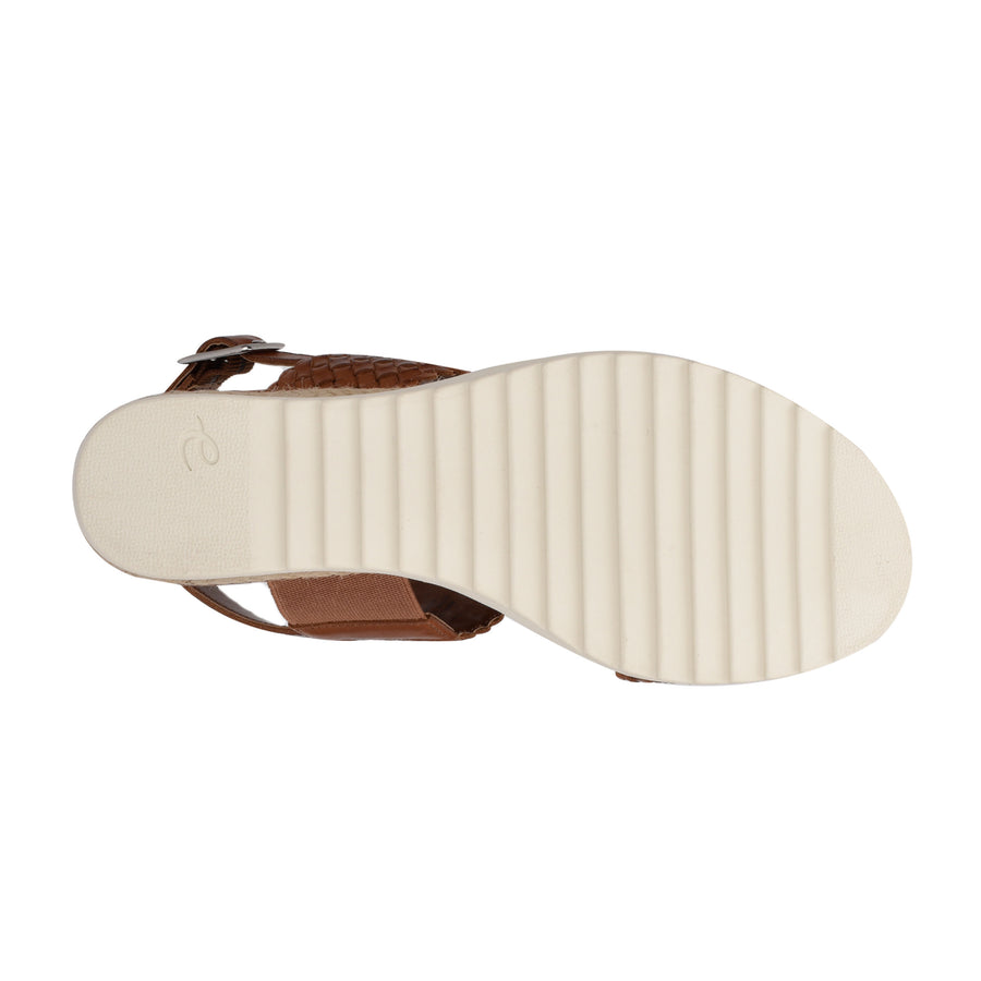 Evolve Women's Zola in Brown Sandals EVOLVE