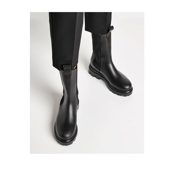 Flattered Women's Lia in Black Boots FLATTERED
