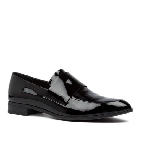 Django And Juliette Women's Gabrian Loafer in Black Patent Flats Django And Juliette 37