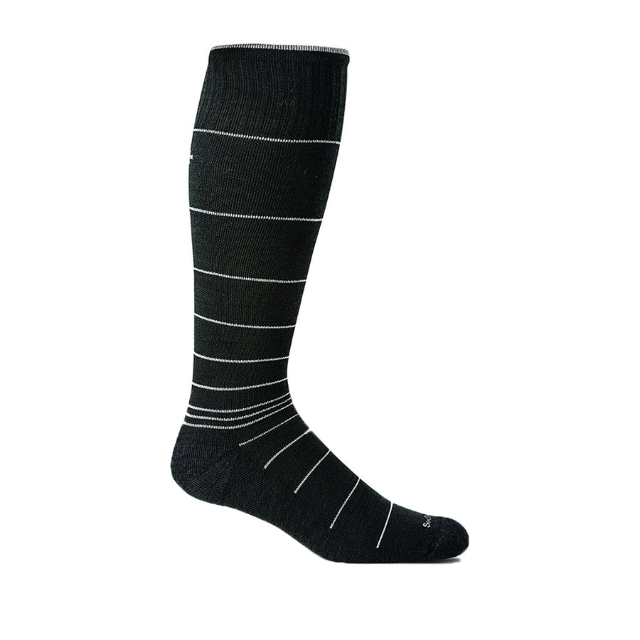 Sockwell Men's Circulator Socks in Black Shoes Sockwell L/XL