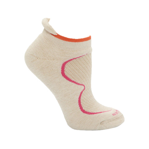 Goodhew Women's Sedona Ultra LT Socks in Oyster Socks Goodhew M/L