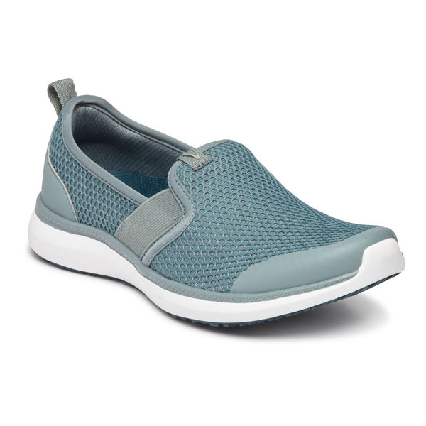 Vionic Women's Julianna Pro Slip On Sneaker Wide in Sage Sneakers VIONIC